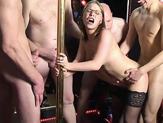 french creampie gangbang