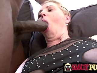 blonde big cock blowjob