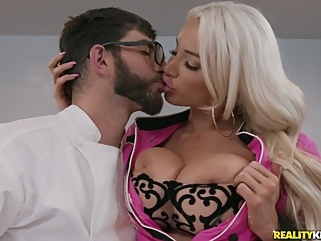 Logan Long & Nicolette Shea in Kitchen Dicken - RealityKings big tits big ass films