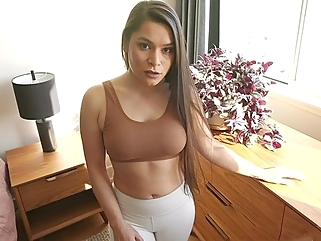 Mommy with big Tits prefers hot sex from the first person... pov milf films