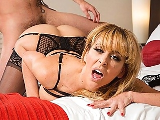 The boy licked Mature whore and her holes fucked passionately... straight stockings films
