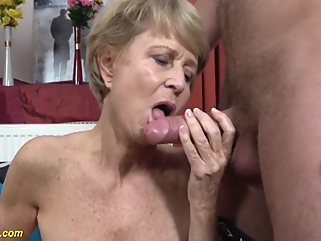 75 Year Old Mom Loves Toyboy blonde big cock films