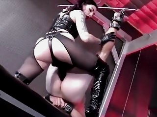 Femdom Mistress Strapon Fucking Compilation strapon latex films