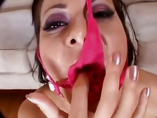 Panties & Sperm - Cum On Panties Fetish Compilation stockings facials films