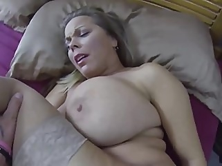 milf creampie old & young