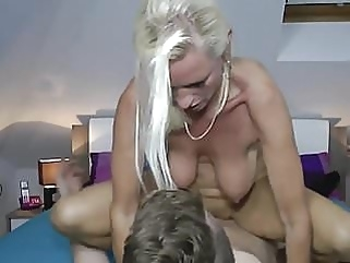 Milf fucks a realy young boy old & young milf films