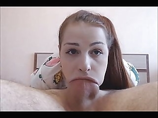Teen Loves To Deepthroat Suck cumshot blowjob films