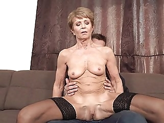 Granny likes em Young & Hung hd videos granny films