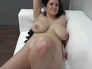 MILF with Big Tits on Casting after WORK pov milf films