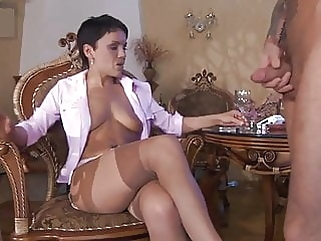 Viola stockings brunette films