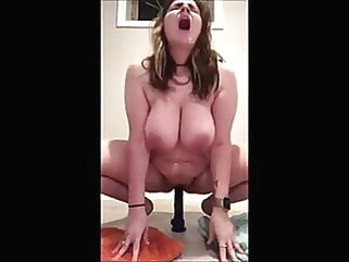 Cumpiiation 17 - BBW Dildo Ride tits bbw films