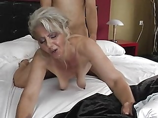 mature blonde nipples