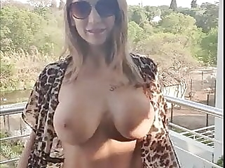 how wife on balcony hd videos cumshot films
