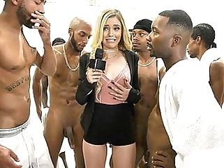 Kali Roses Sucks A Black Football Team facial cumshot films
