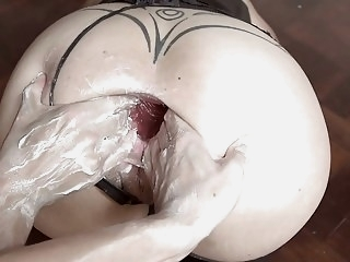 MONSTER DILDO GAPE FISTING AND DOUBLE FISTING hd videos milfs films