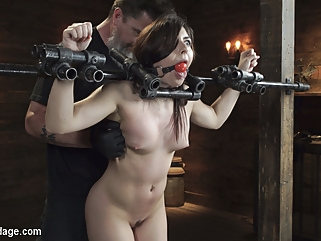 brunette bdsm fetish
