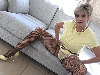 Edging Lessons With Aunt Sonia - LadySonia blonde big tits films