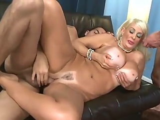 Old Slut With Huge Tits Gets Doubleteamed straight mature films