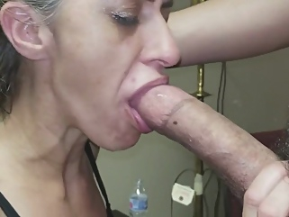 Gagging Granny Gummer Gnaws On Simps Cock deepthroat blonde films