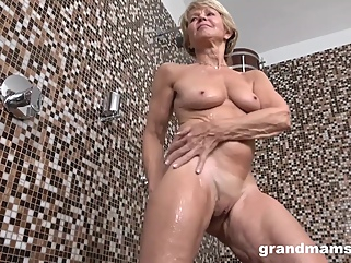 Worn Out Granny And Her New Toy fetish blonde films