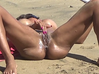beach amateur big tits