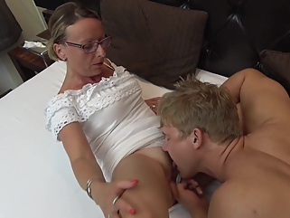 Sanita Ramira in Granny Fuck blonde big tits films