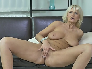 Naughty Blonde Granny With Big Boobs, Roxana Is Wearing Shoes With High Heels While Masturbating  roxana is wearing shoes with high heels while masturbating films