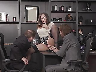 Natasha - Hard DP in office hd videos double penetration films