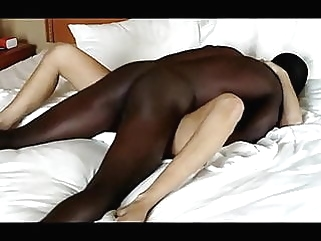 Hot Blonde Gets Blacked interracial blonde films