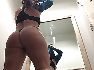 Changing Room Voyeur - Shopping Mall upskirt brunette films