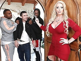 Stepmom Alura Jenson Gets DPd In Front Of Her Stepson interracial blowjob films