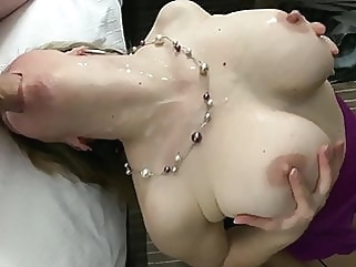 Wife takes huge cock deep in her mouth and gets a lot of cum milf cumshot films